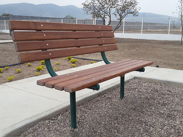 Recycled Plastic Bench B-060