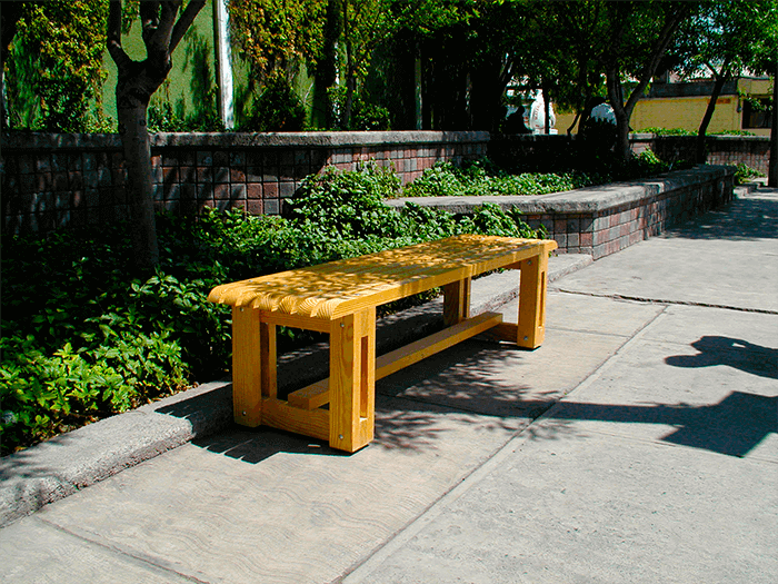 Patio benches manufacturer